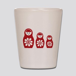 Riyah-Li Designs Nesting Dolls Three Shot Glass