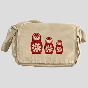 Riyah-Li Designs Nesting Dolls Three Messenger Bag