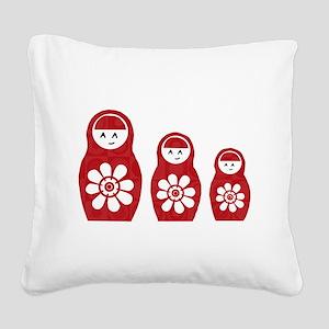 Riyah-Li Designs Nesting Dolls Three Square Canvas