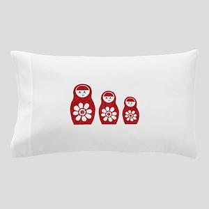 Riyah-Li Designs Nesting Dolls Three Pillow Case