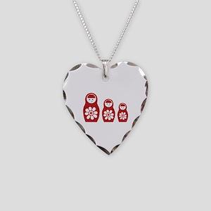 Riyah-Li Designs Nesting Dolls Three Necklace Hear