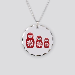 Riyah-Li Designs Nesting Dolls Three Necklace Circ