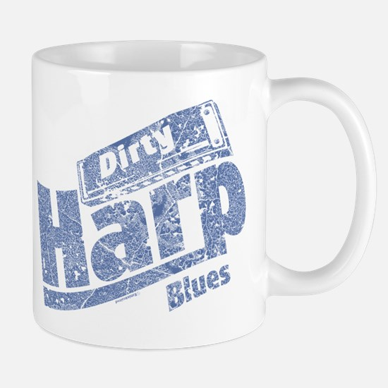 Dirty Harp Blues Mug