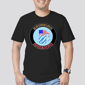 Bavarian American Beer Stein Men's Fitted T-Shirt