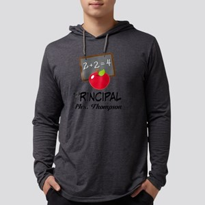 School Principal Personalized Mens Hooded Shirt