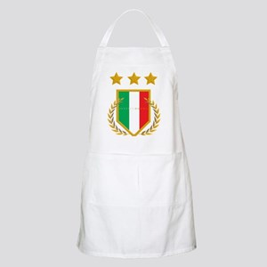 JuventiKNOWS Triple Star Scudetto Shield Apron