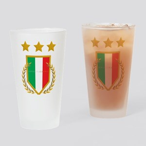 JuventiKNOWS Triple Star Scudetto Shield Drinking