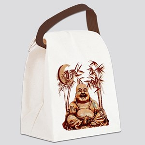 Riyah-Li Designs Happy Buddha Canvas Lunch Bag