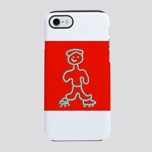 Red Cute Inline Skater 4Keith iPhone 7 Tough Case