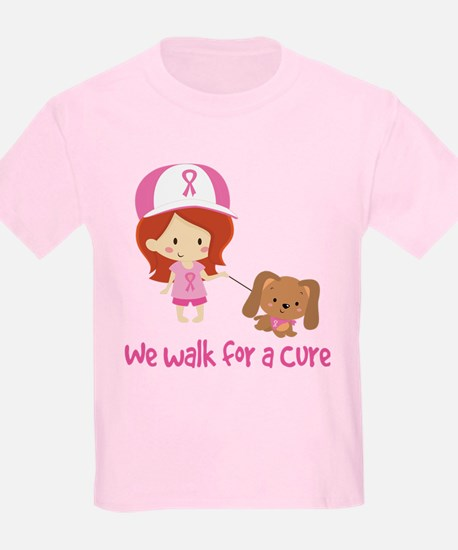 We Walk For A Cure T-Shirt