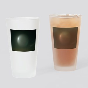 abstract bubble Drinking Glass