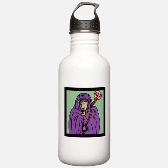 wizard_mage_goldndungeons Water Bottle