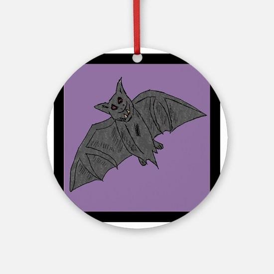 Bat_monster_goldndungeons Ornament (Round)