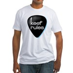 Keef Rules Guitar Pick - Fitted T-Shirt