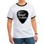 Keef Rules Guitar Pick - Ringer T
