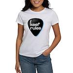 Keef Rules Guitar Pick - Women's T-Shirt