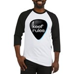Keef Rules Guitar Pick - Baseball Jersey