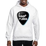 Keef Rules Guitar Pick - Hooded Sweatshirt