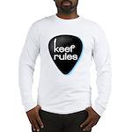 Keef Rules Guitar Pick - Long Sleeve T-Shirt