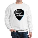Keef Rules Guitar Pick - Sweatshirt