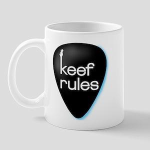 Keef Rules Guitar Pick - Mug