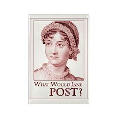 Jane Austen POST Rectangle Magnet
