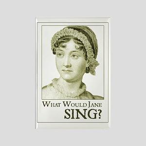 Jane Austen SING Rectangle Magnet