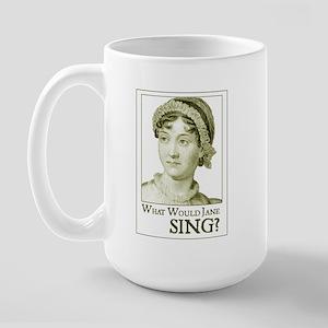 Jane Austen SING Large Mug