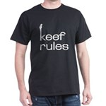 Keef Rules - Black T-Shirt