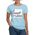Keef Rules - Women's Pink T-Shirt