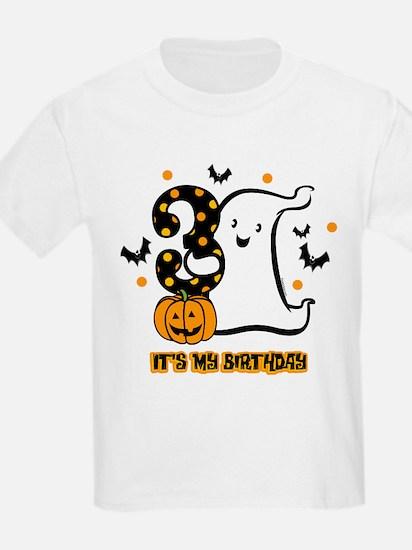 Little Ghost 3rd Birthday T-Shirt