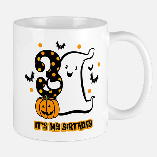 Little Ghost 3rd Birthday Mug