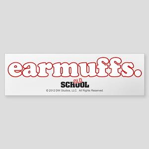 Earmuffs Sticker (Bumper)