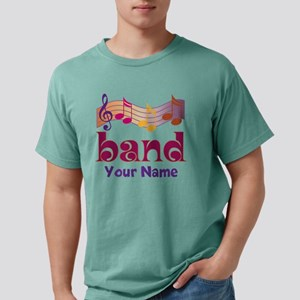 Personalized Marching Ba Mens Comfort Colors Shirt