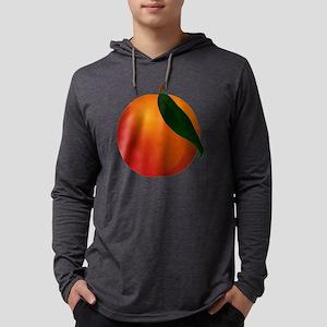 Peach Mens Hooded Shirt