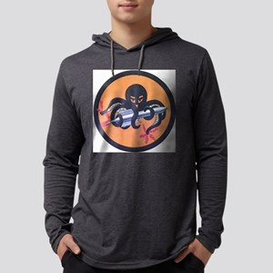emblem - 613th bomber squadron.j Mens Hooded Shirt