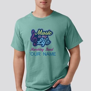 Marching Band Quote musi Mens Comfort Colors Shirt