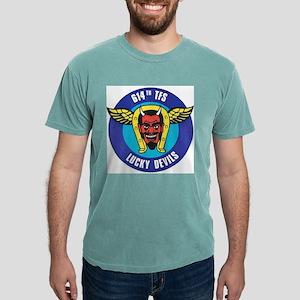 emblem - 614th tfs Mens Comfort Colors Shirt