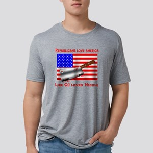 ojtherepublican Mens Tri-blend T-Shirt