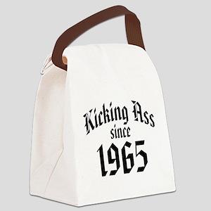 Kicking Ass Since 1965 Canvas Lunch Bag