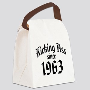 Kicking Ass Since 1963 Canvas Lunch Bag