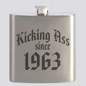 Kicking Ass Since 1963 Flask