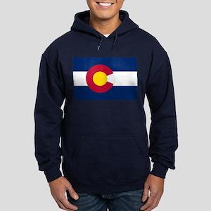 Colorado flag Hoodie (dark)