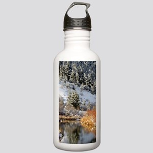 Winter river Stainless Water Bottle 1.0L