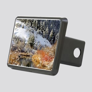Winter river Rectangular Hitch Cover