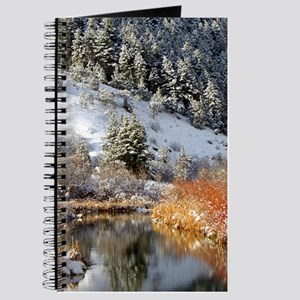 Winter river Journal