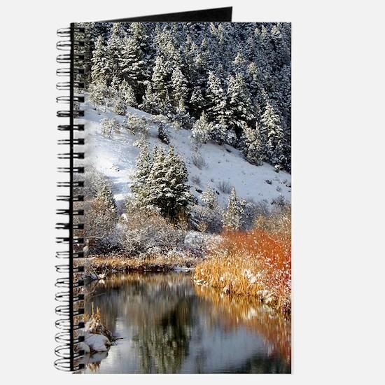 Winter river Journal