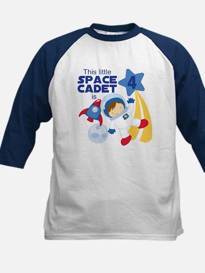 Astronaut is 4 Kids Shirt with Raglan Sleeves