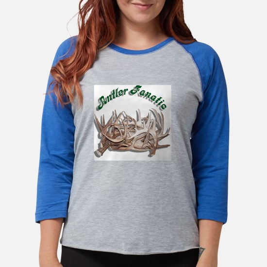 11x11_pillow  antlers.png Womens Baseball Tee