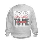 Luke 18:14 Kids Sweatshirt